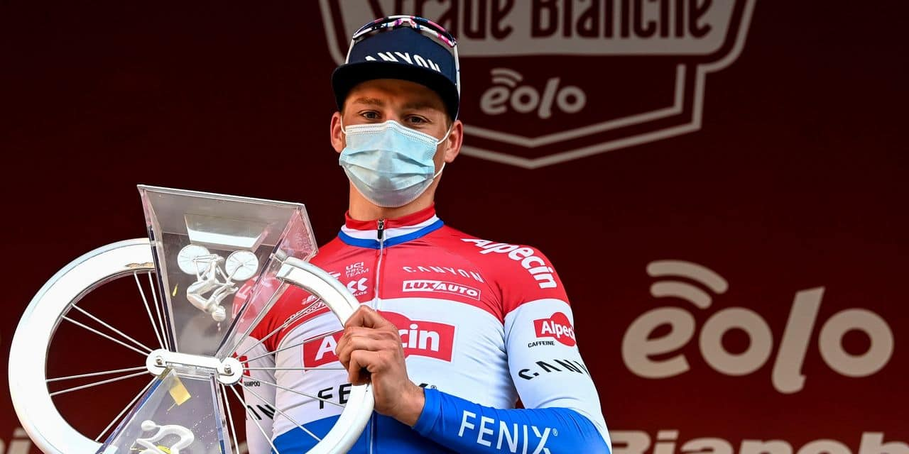 Les chiffres le prouvent : Van der Poel était intenable au Strade Bianche - dh.be