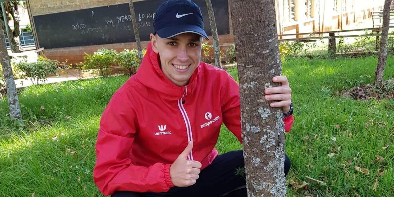 """Clément Deflandre aux Nationaux de cross-country après 11 semaines au Kenya: """"Je peux gagner comme être hors du top 10"""""""