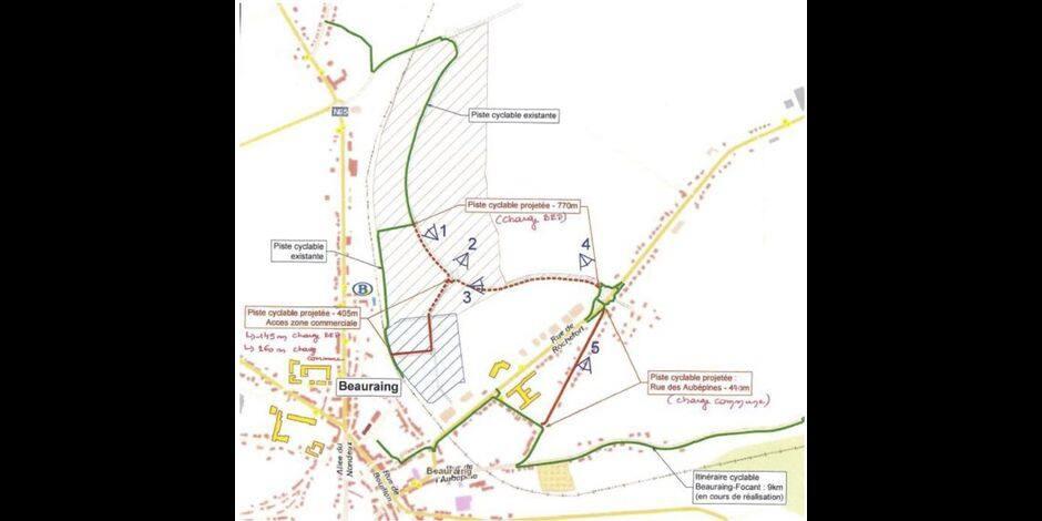 Beauraing : le Parc d'activité économique bientôt complètement cyclable