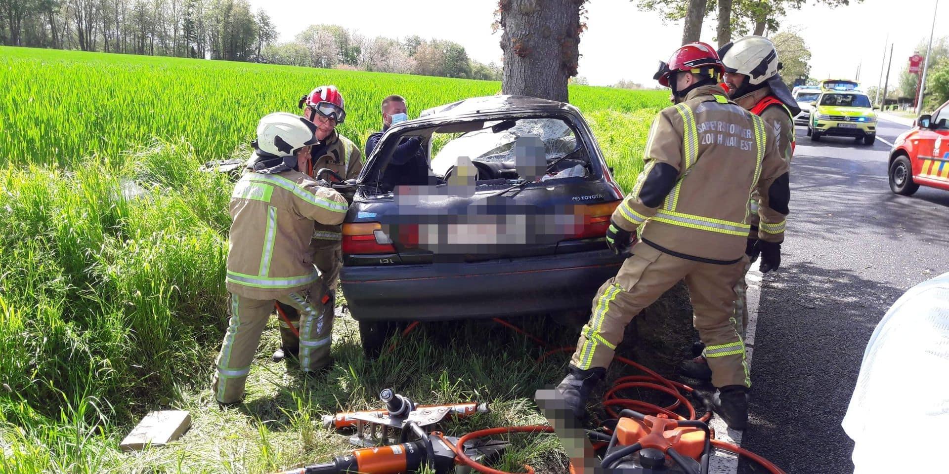 Dramatique accident à Beaumont, une conductrice de 68 ans transportée à l'hôpital dans un état critique