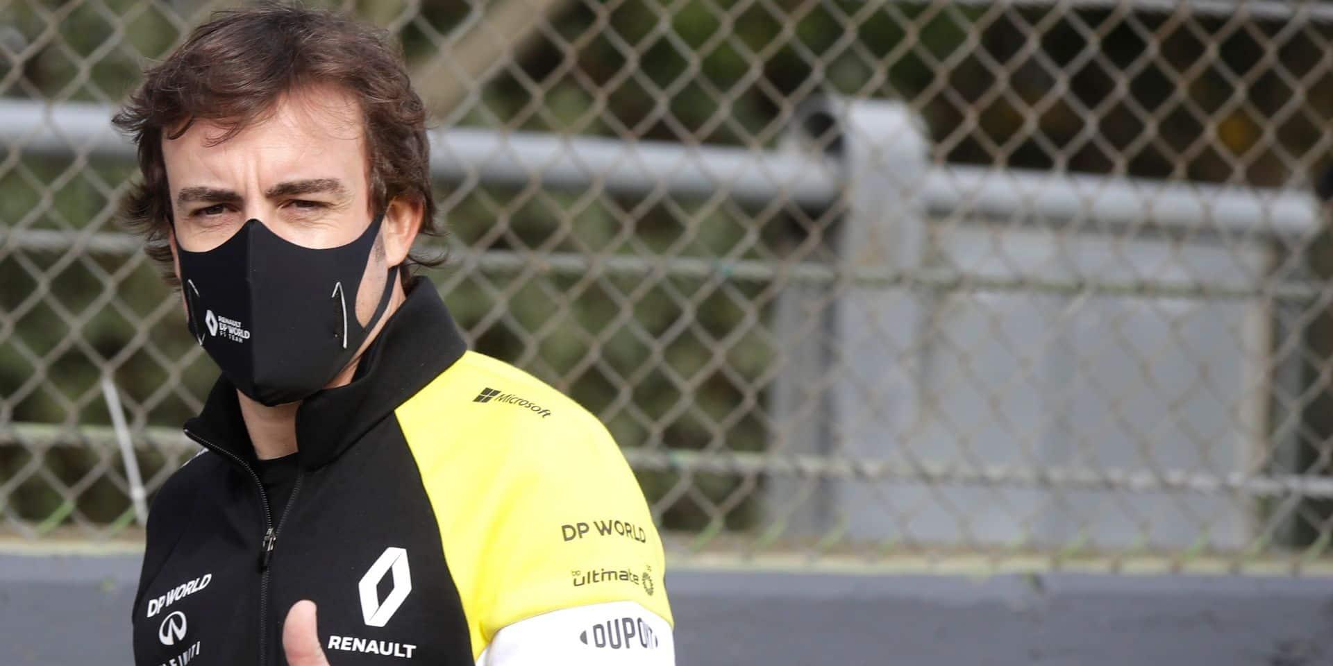 Fernando Alonso est sorti de l'hôpital après son accident à vélo