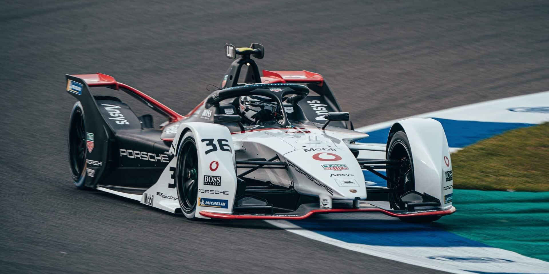 ePrix de Valence: Lotterer partira 5ème la course 2, Vandoorne lointain 18ème