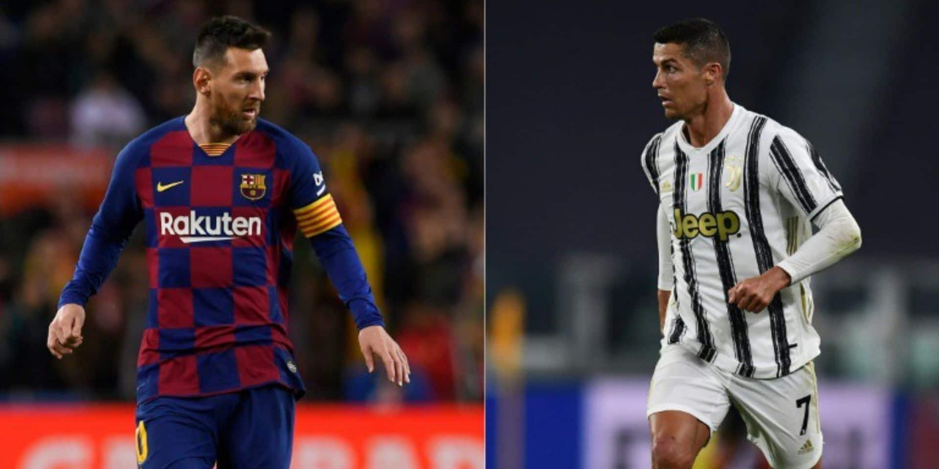 Enfin les retrouvailles entre Messi et Ronaldo ?