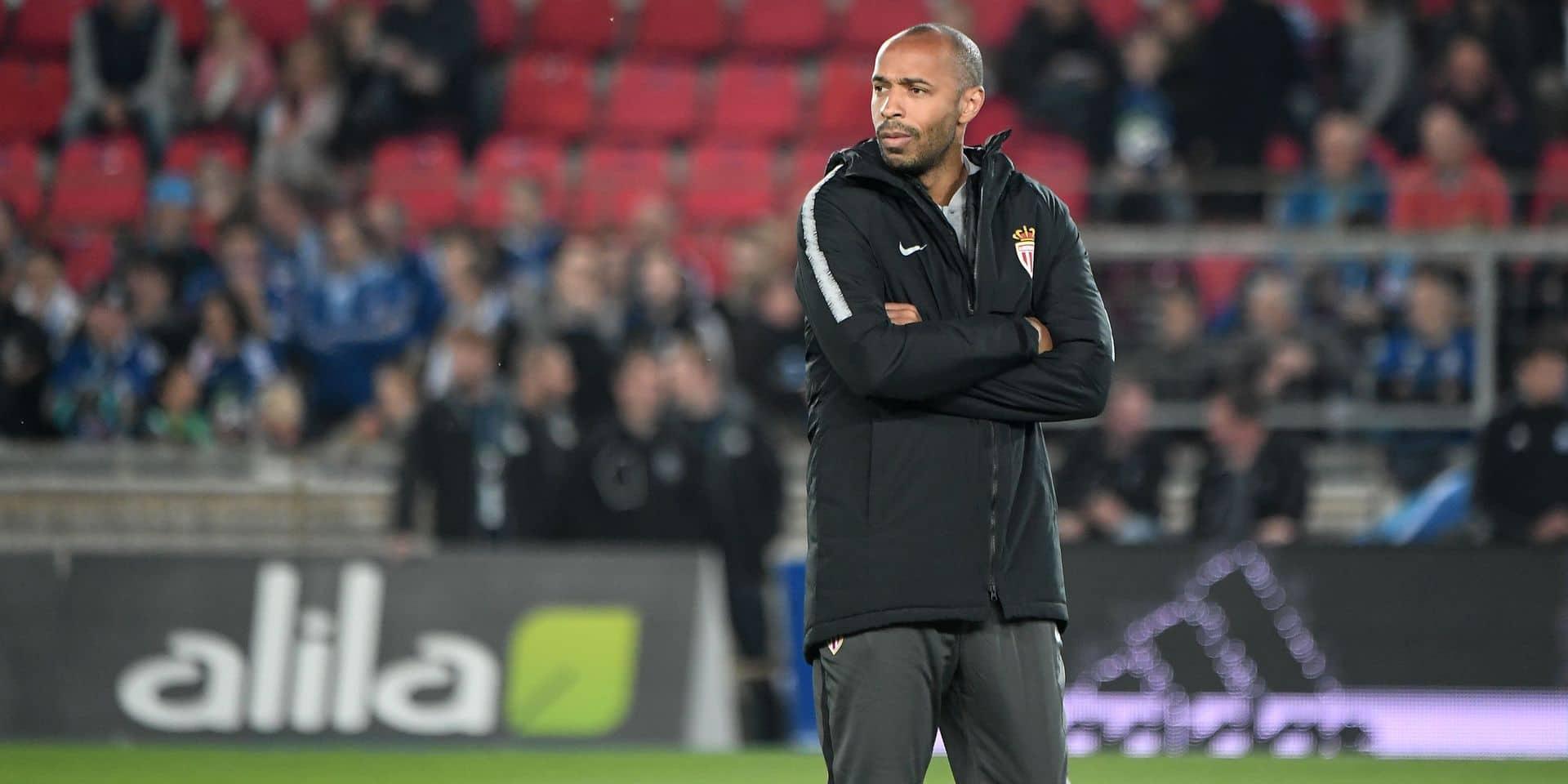 Pour sa première, Thierry Henry est ovationné par les supporters de Strasbourg, Tielemans et Chadli titulaires