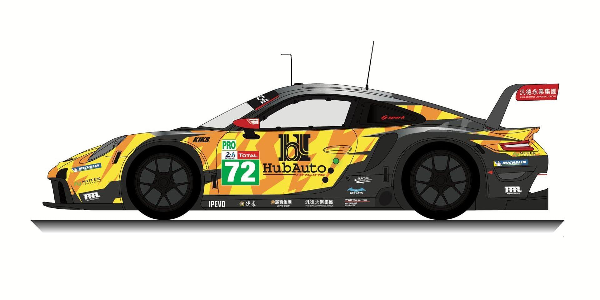 24H du Mans: Maxime Martin rejoint Dries Vanthoor sur la Porsche HubAuto Racing