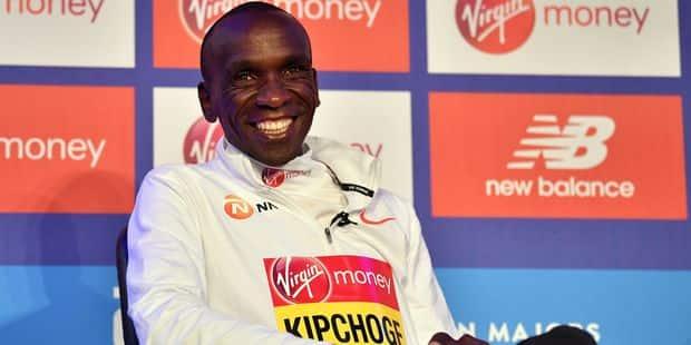 Kipchoge tentera de passer sous les 2 heures au marathon à