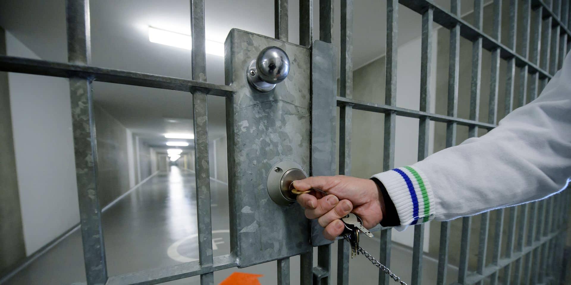 Grève: 75% des gardiens de la prison de Namur travaillent