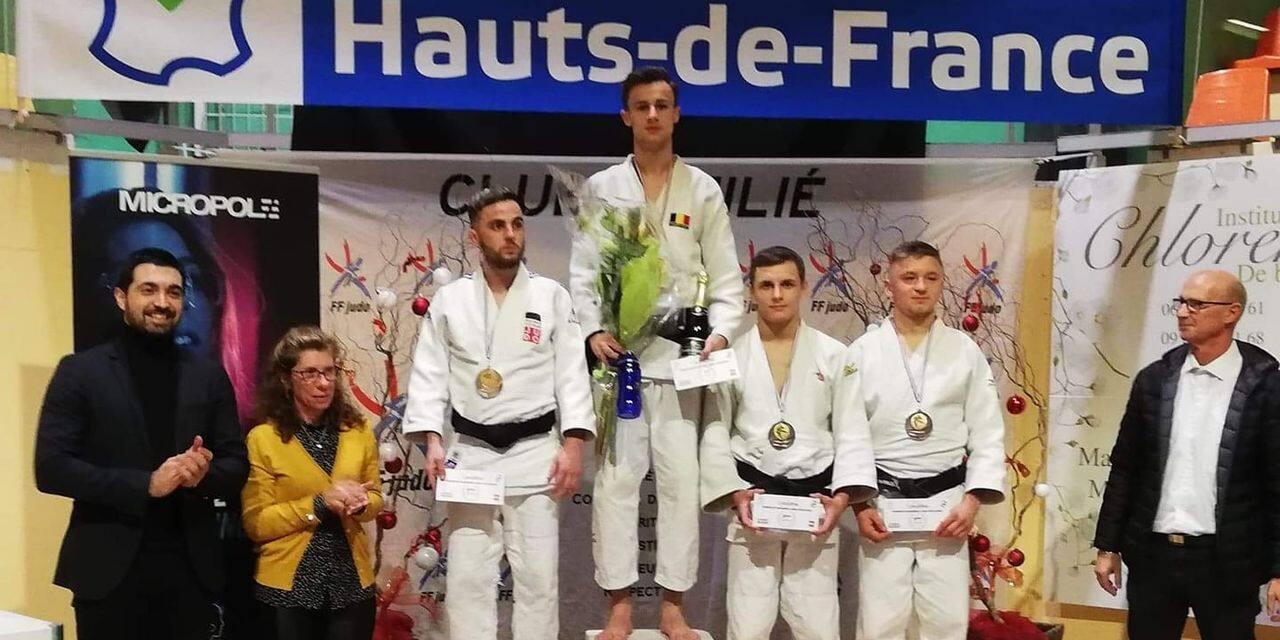 Judo : cinq médailles belges à Wasquehal...