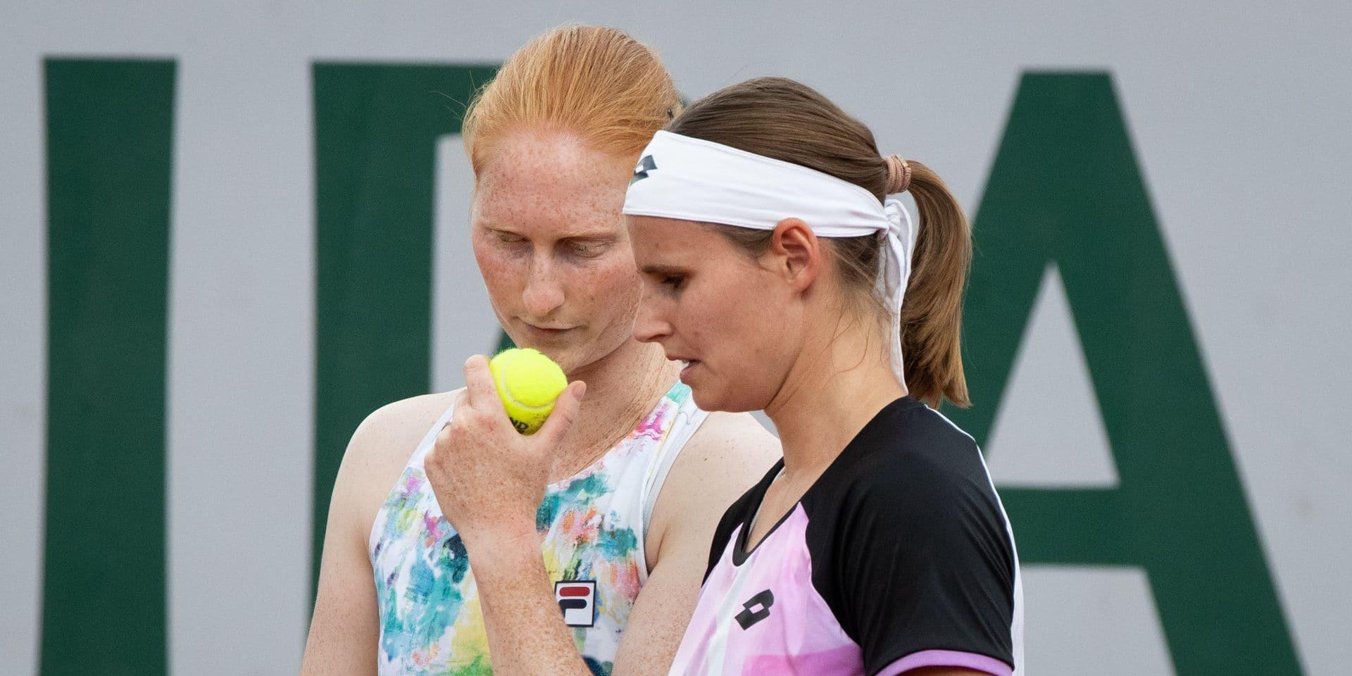 Wimbledon: Ysaline Bonaventure au deuxième tour, Greet Minnen rejoint elle le dernier tour qualificatif
