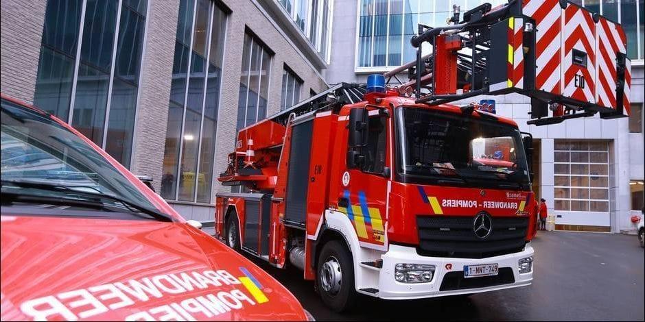 Villers-le-Bouillet: un début d'incendie dans le zoning