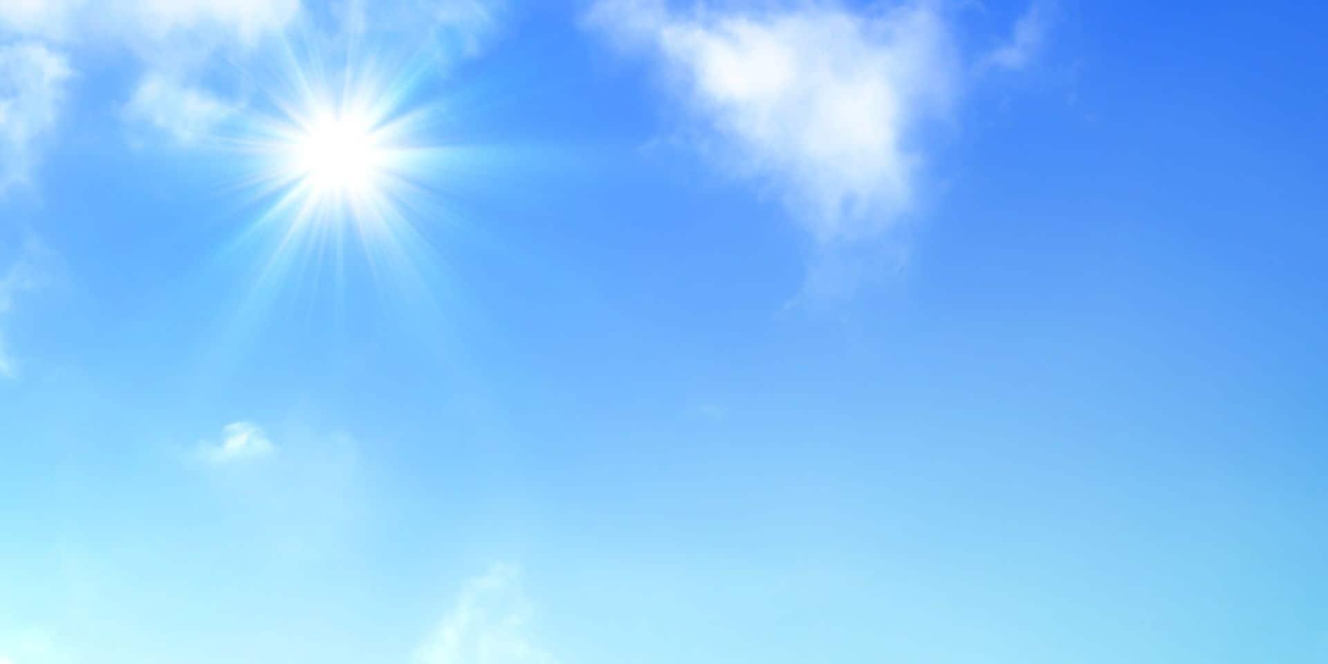 Météo: encore du soleil pour ce jeudi, jusqu'à 25 degrés