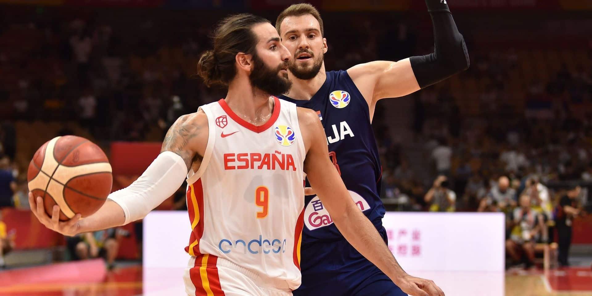 Coupe du monde de basket: l'Espagne dégrise la Serbie et jouera contre la Pologne en quarts de final