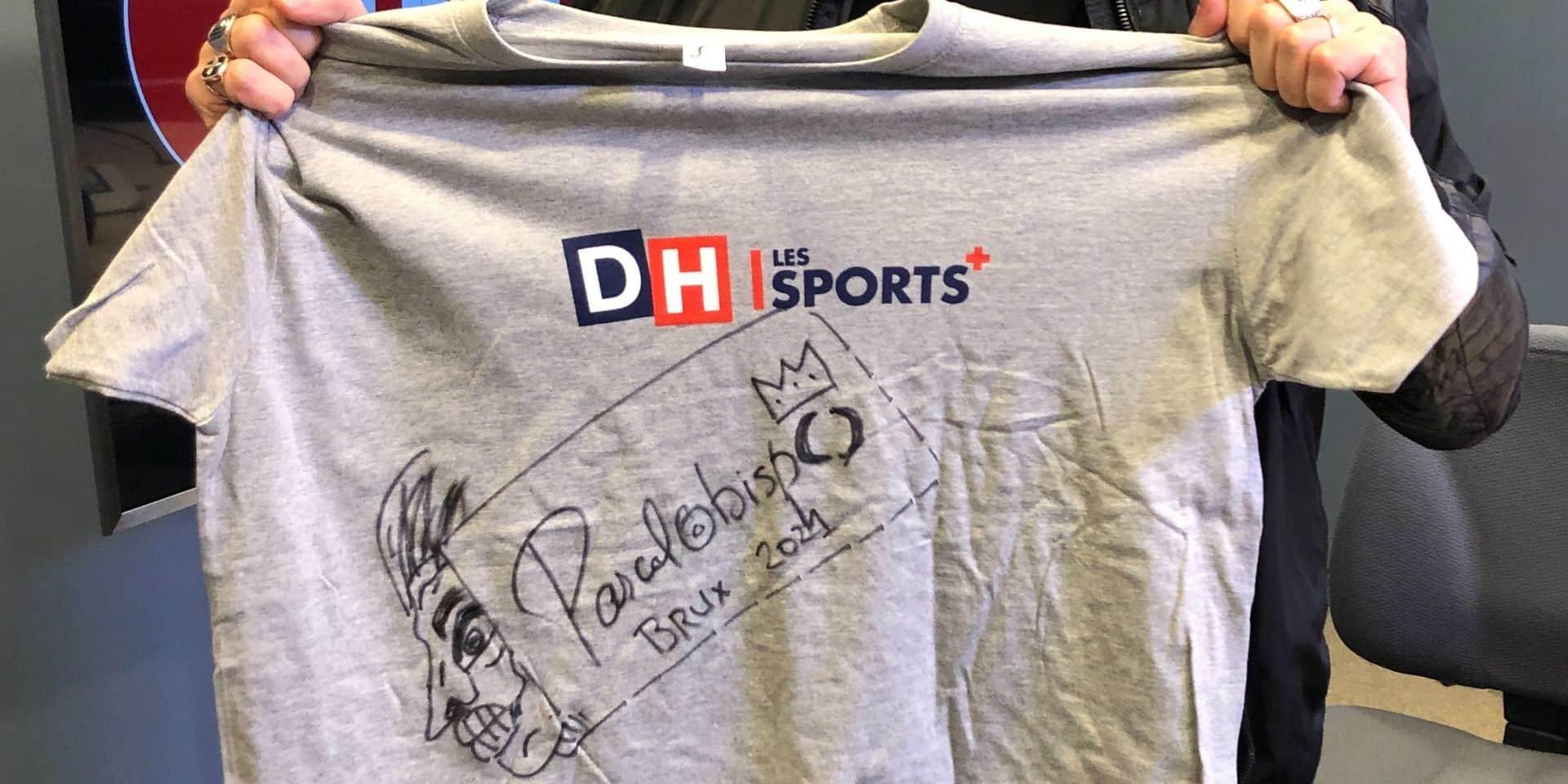 Gagnez un t-shirt DH/LesSports+ dédicacé par Pascal Obispo !