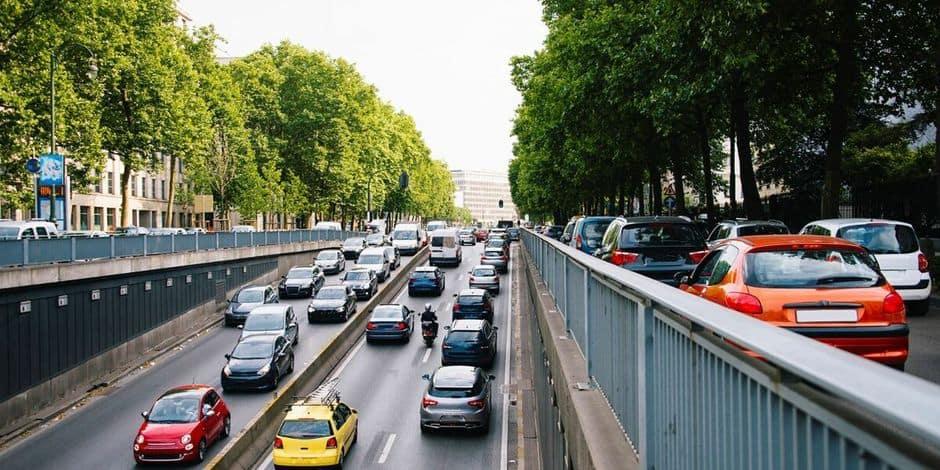 25% de kilomètres parcourus en moins en 2020 en Belgique