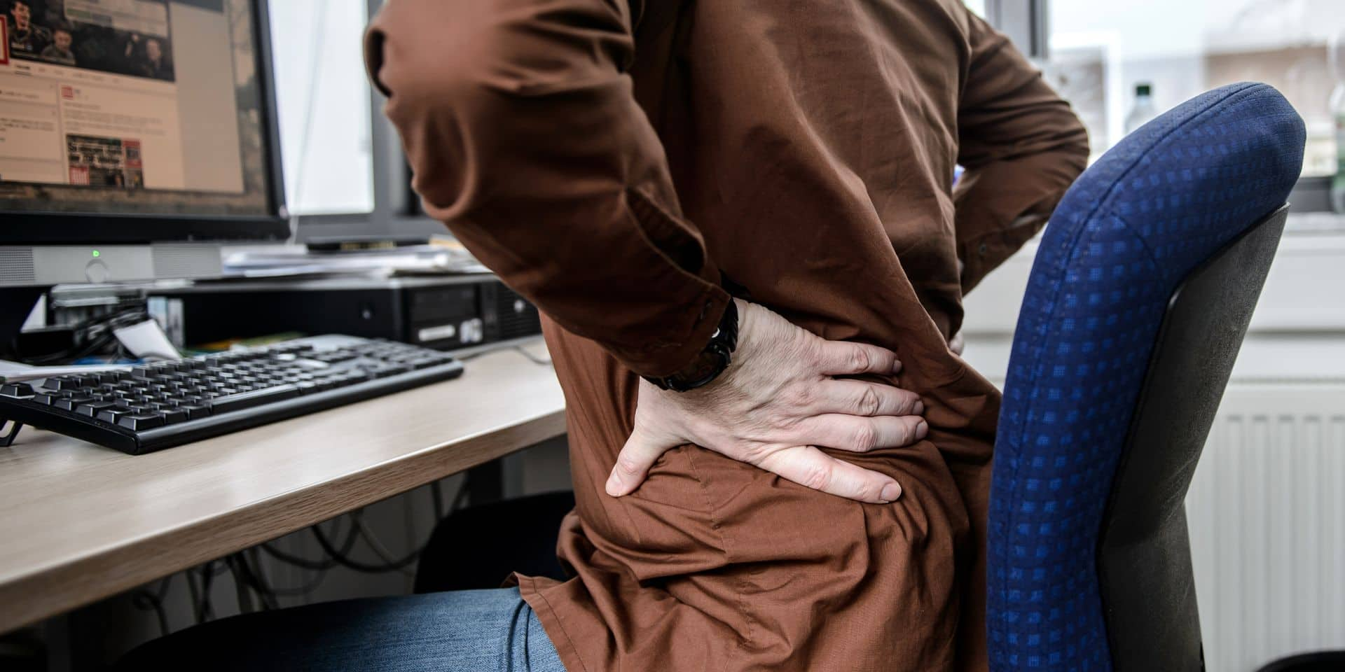 Des chiffres inquiétants: près de la moitié des employés de bureau souffrent de problèmes physiques