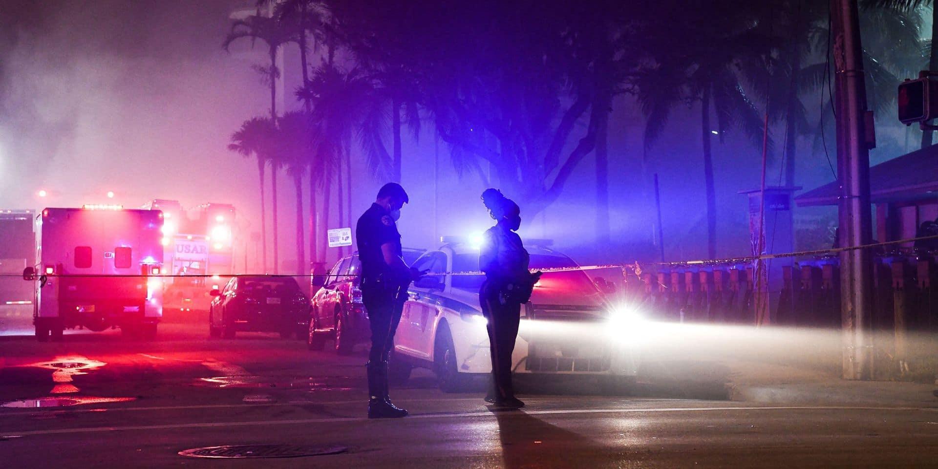 Immeuble effondré en Floride: les recherches de plus en plus désespérées ont continué dans la nuit