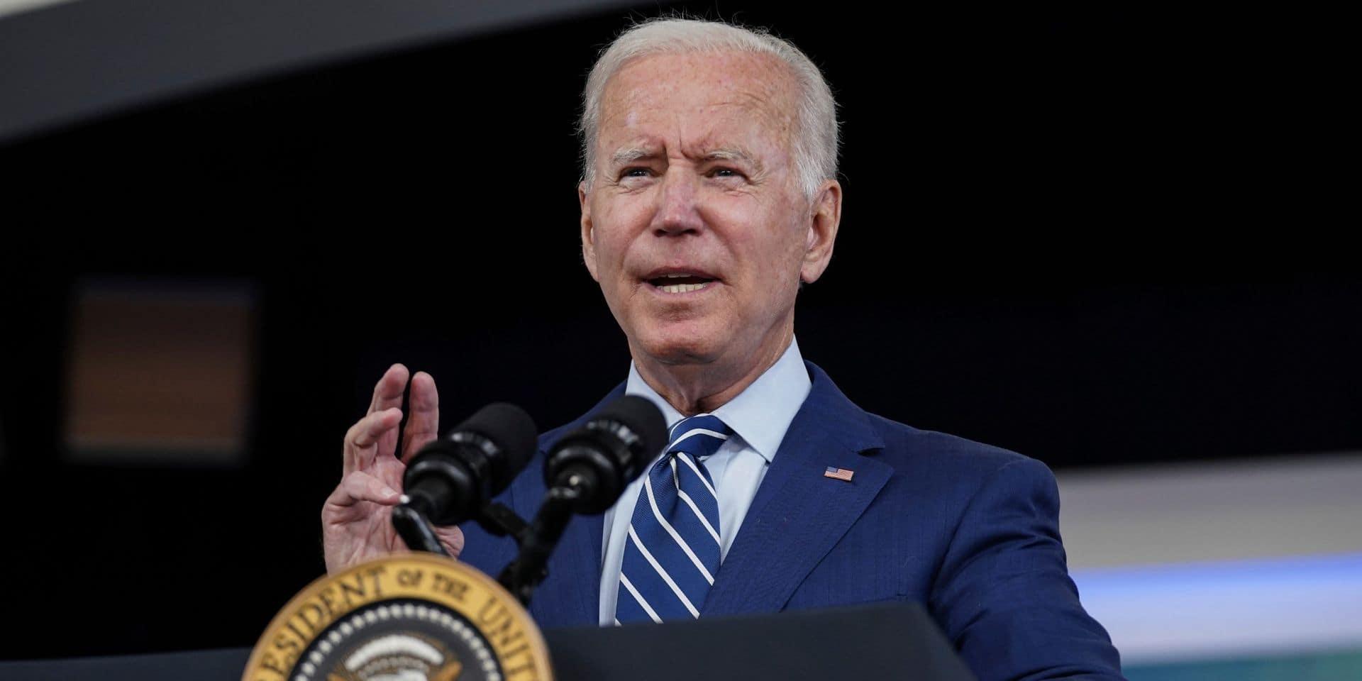 Joe Biden affronte des jours difficiles au Congrès américain