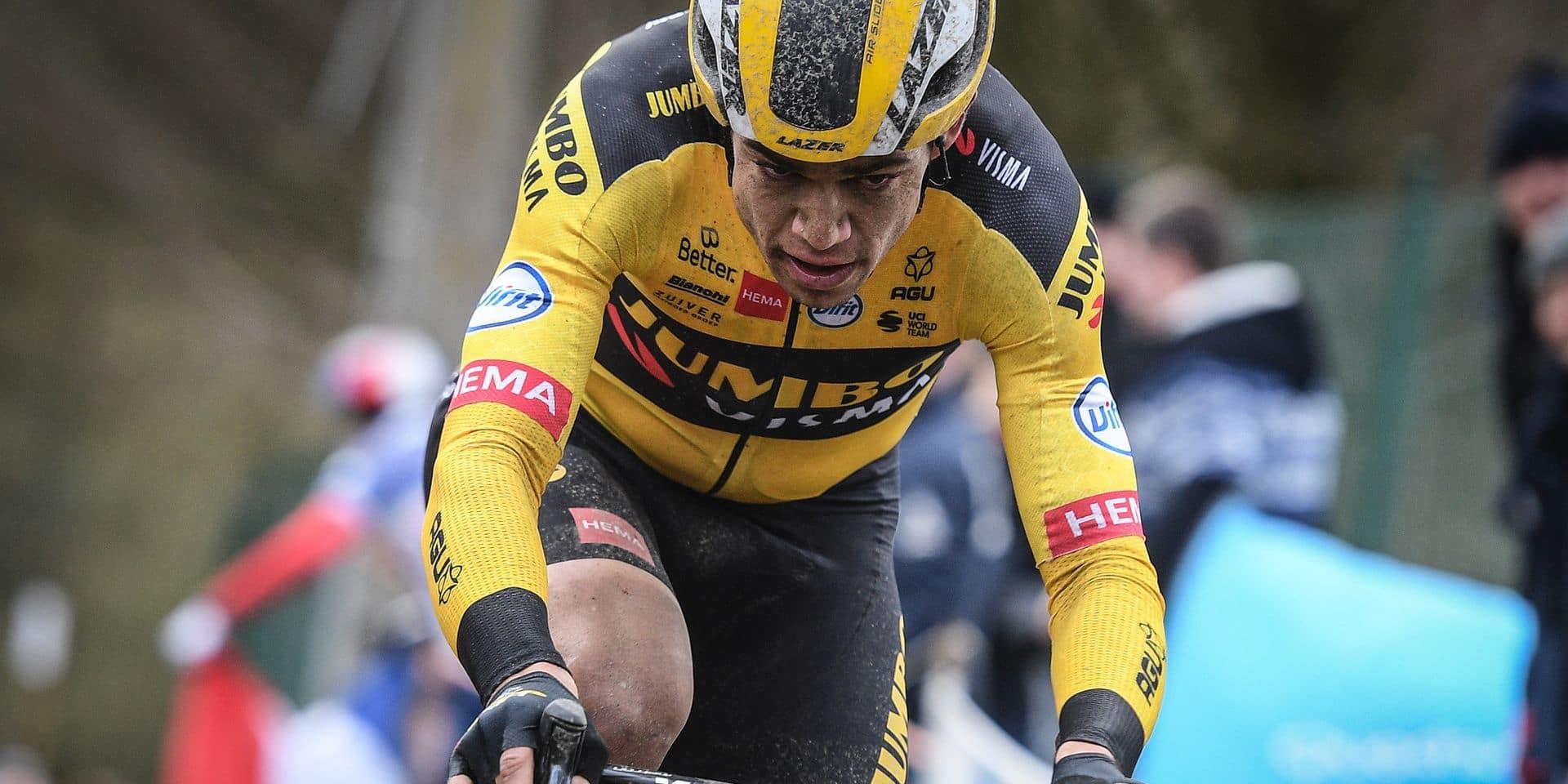 "Wout Van Aert: ""La sensation dans ma jambe droite sera toujours différente"""