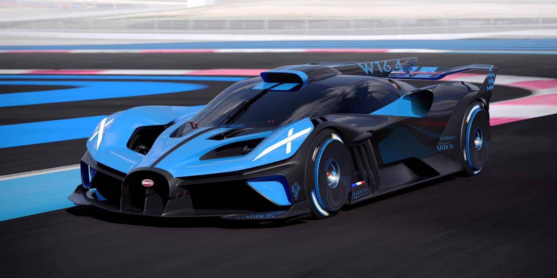 Bugatti Bolide La Voiture De Course La Plus Rapide Du Monde Ou Presque Dh Les Sports