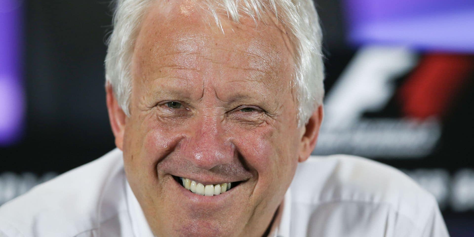 La F1 rend hommage à son directeur de course, Charlie Whiting, mort à 66 ans