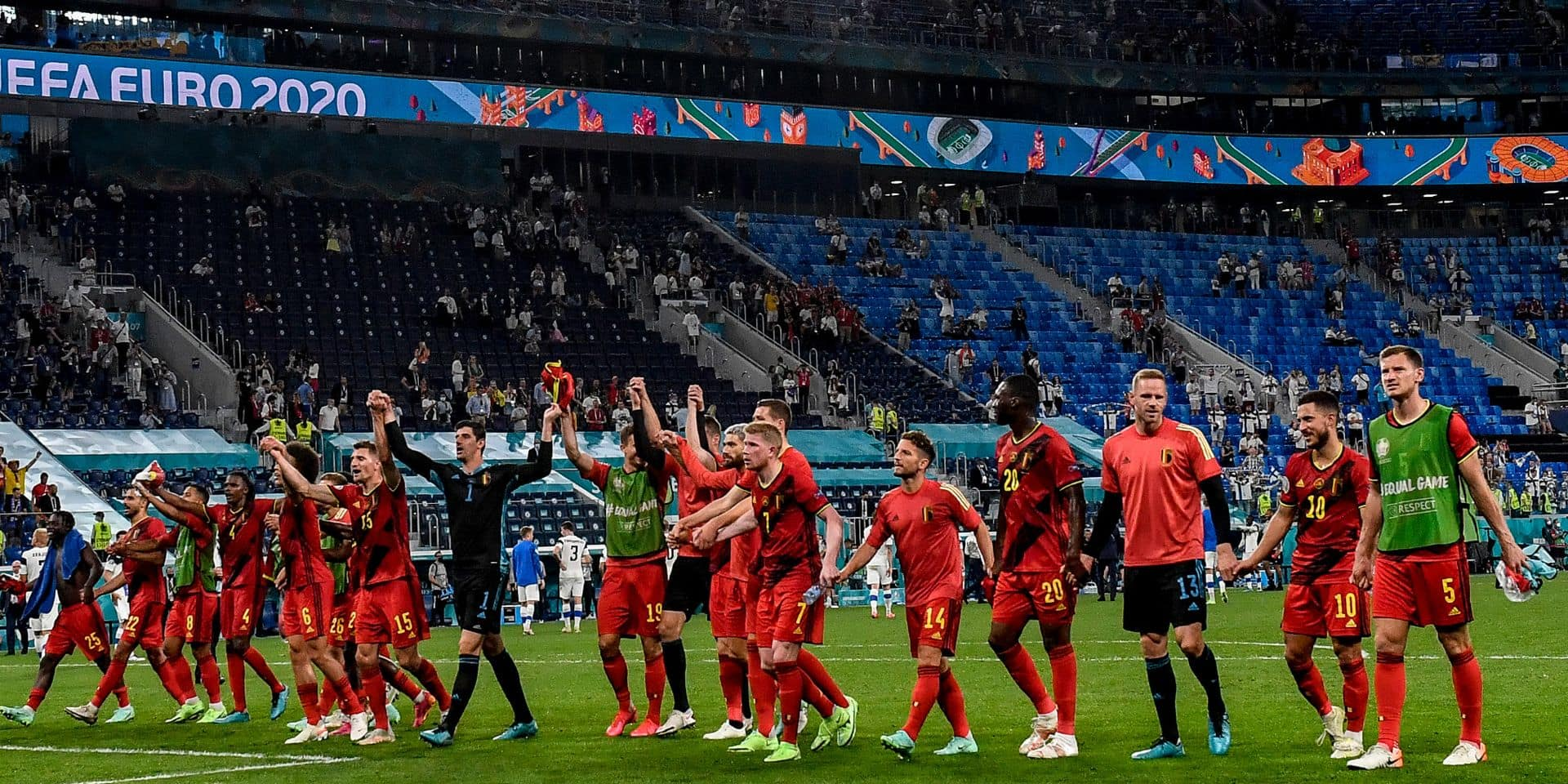 Record d'audience pour la RTBF avec Belgique-Finlande
