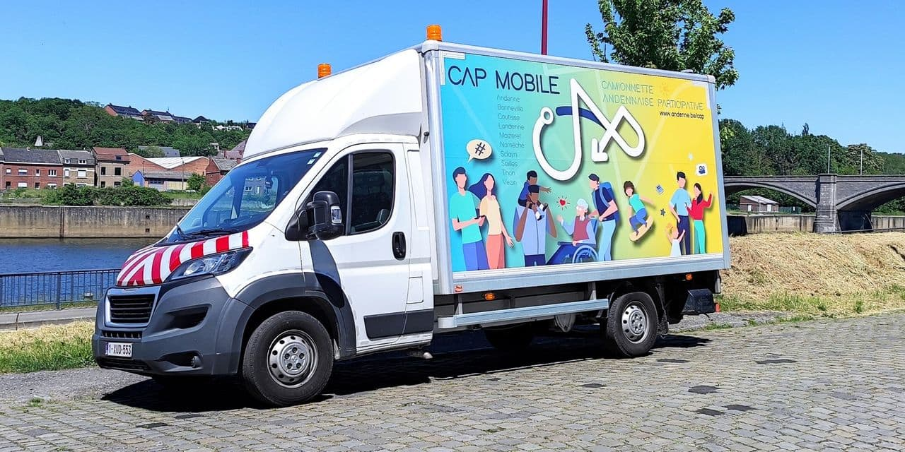 CAP mobile : une maison de quartier mobile à Andenne