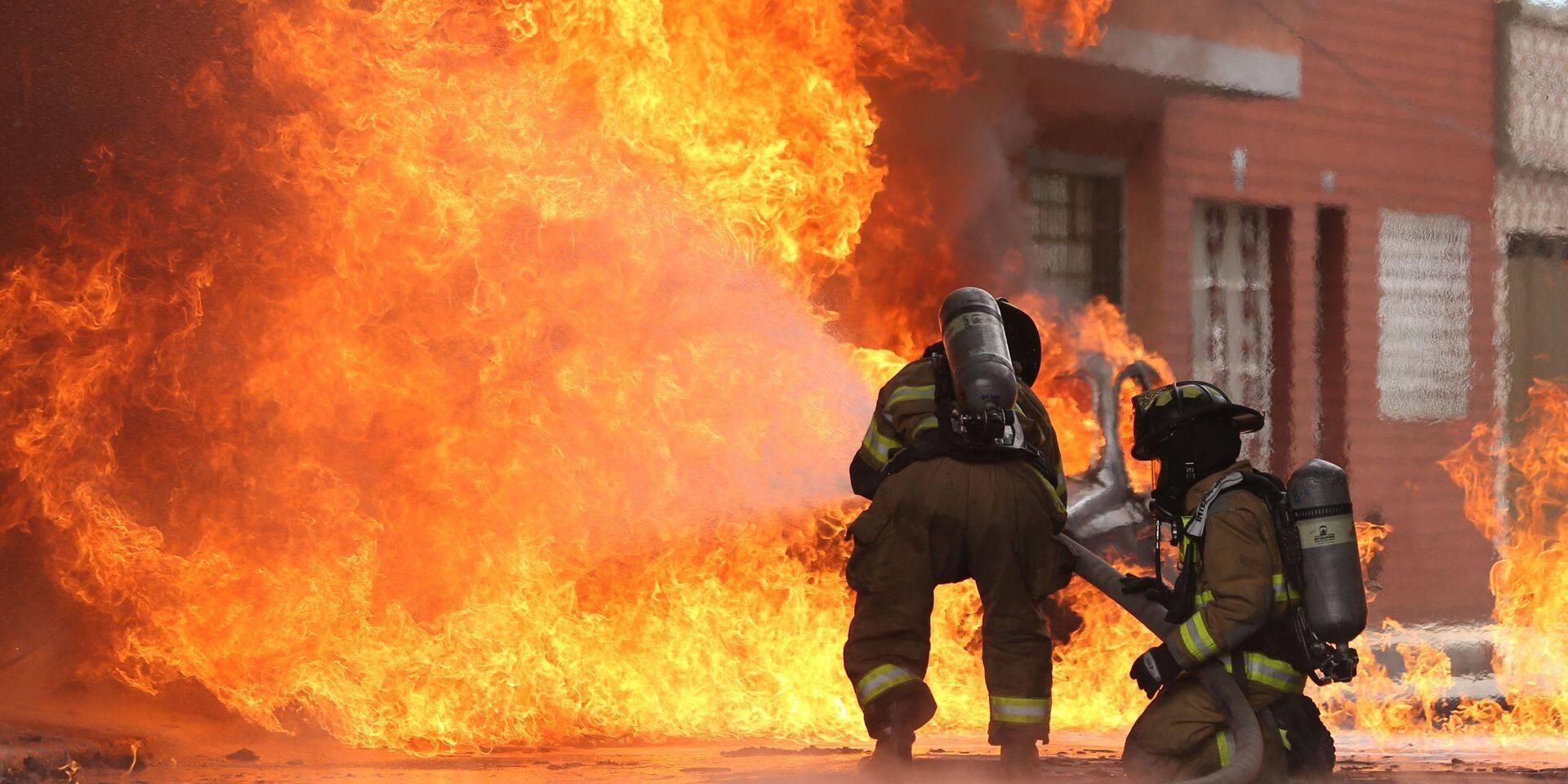 Incendie dans un immeuble squatté de Liège