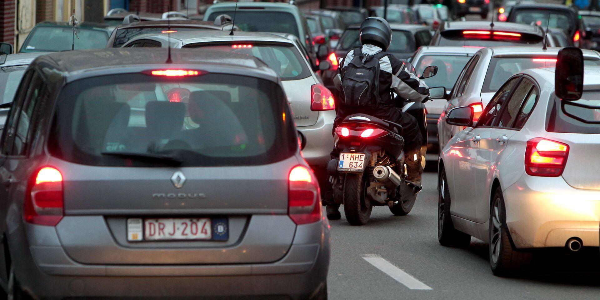 Tour de France: le Tour provoque déjà des embouteillages à Laeken