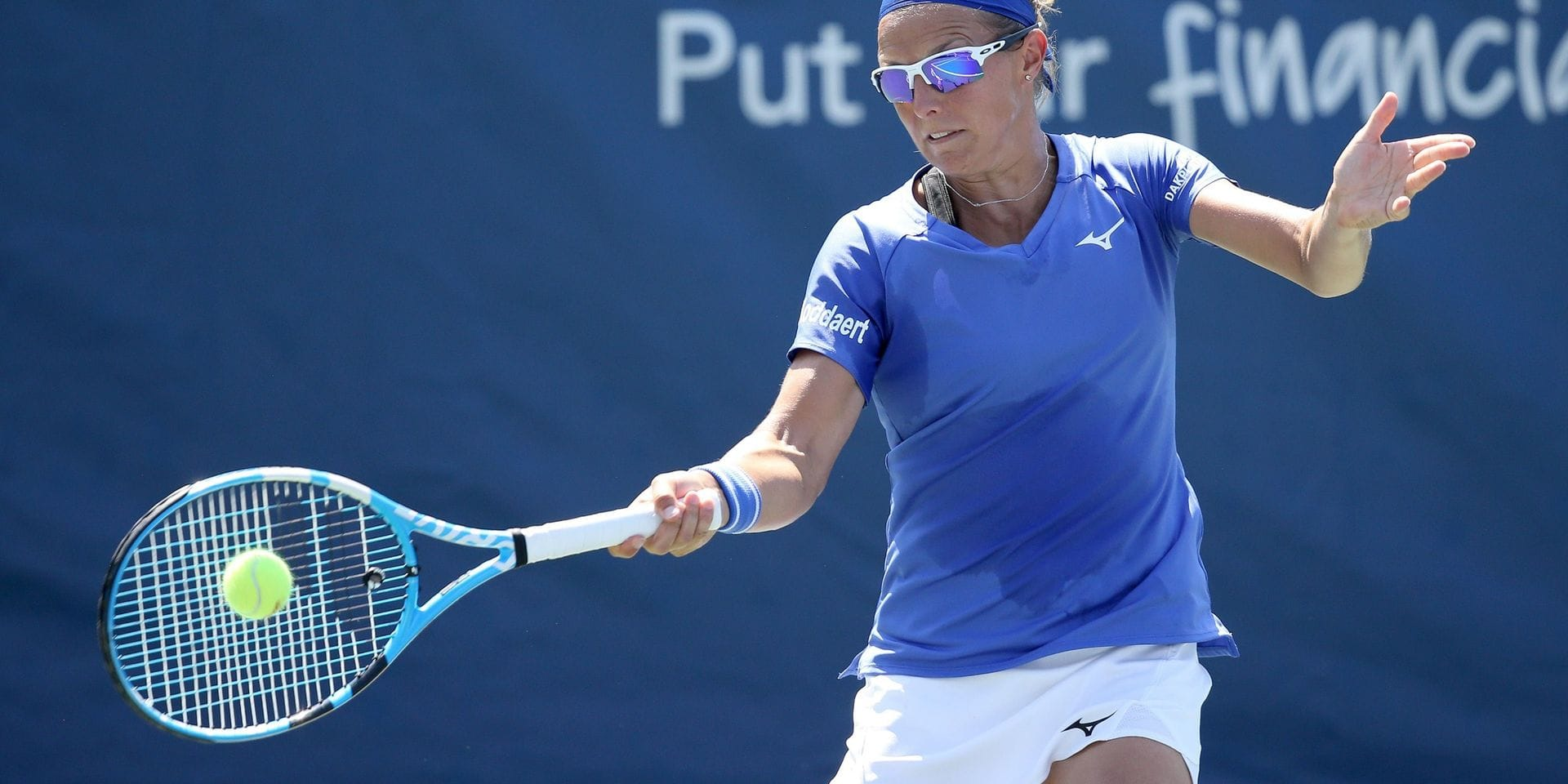 US Open: Kirsten Flipkens et Alison Van Uytvanck sorties au premier tour du double