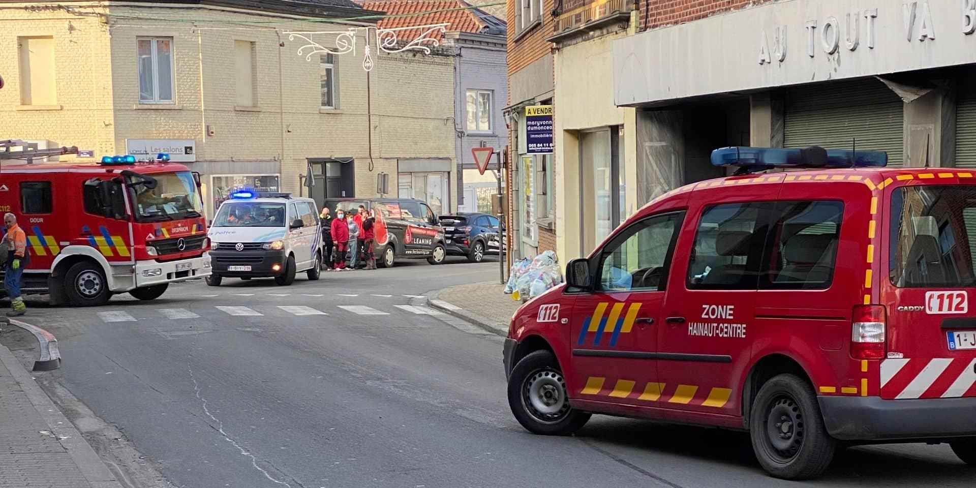 Une partie du centre-ville de Dour évacuée : nouvelle fuite de gaz