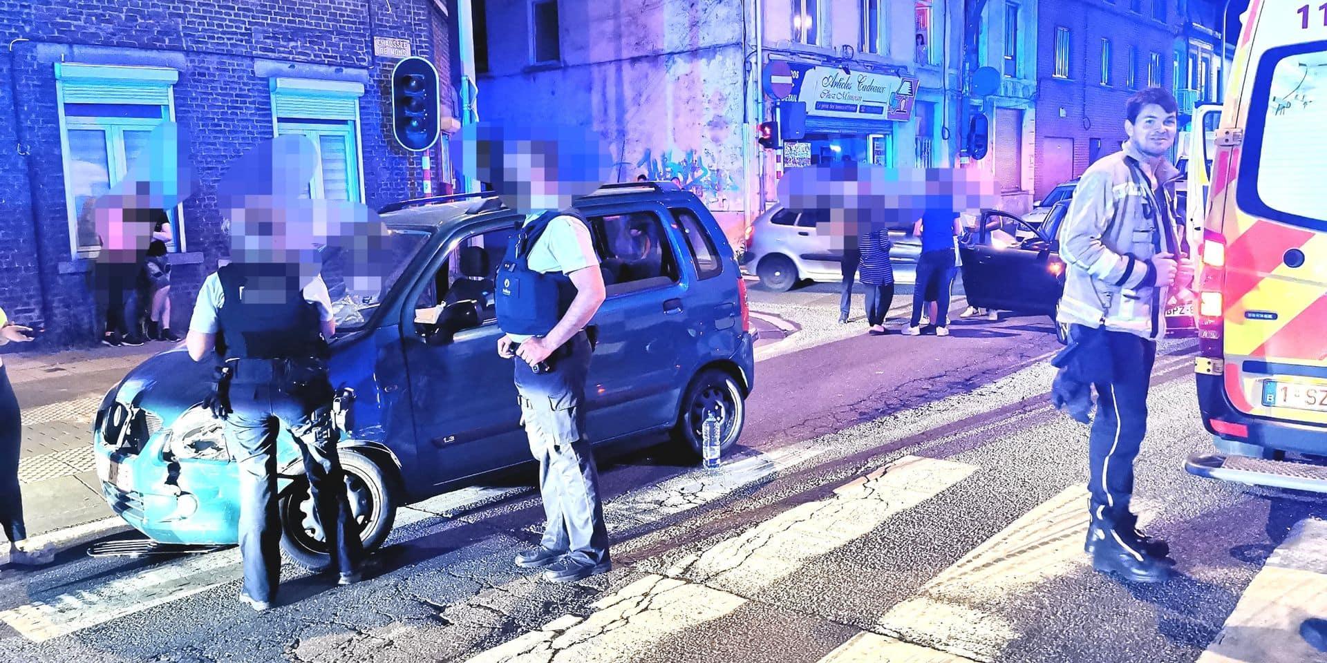 Une automobiliste blessée à Marchienne-au-Pont