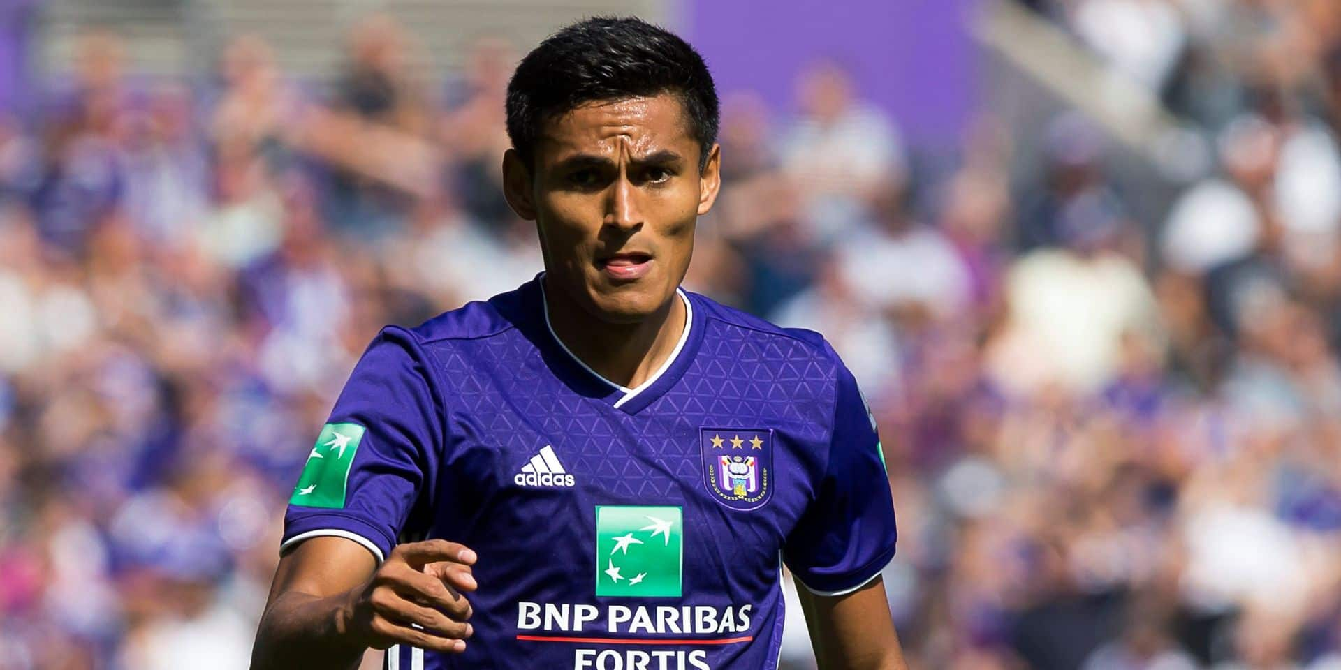 Anderlecht's Andy Najar pictured in action during the Jupiler Pro League match between RSC Anderlecht and Royal Antwerp FC, in Brussels, Sunday 02 September 2018, on the sixth day of the Jupiler Pro League, the Belgian soccer championship season 2018-2019. BELGA PHOTO KRISTOF VAN ACCOM