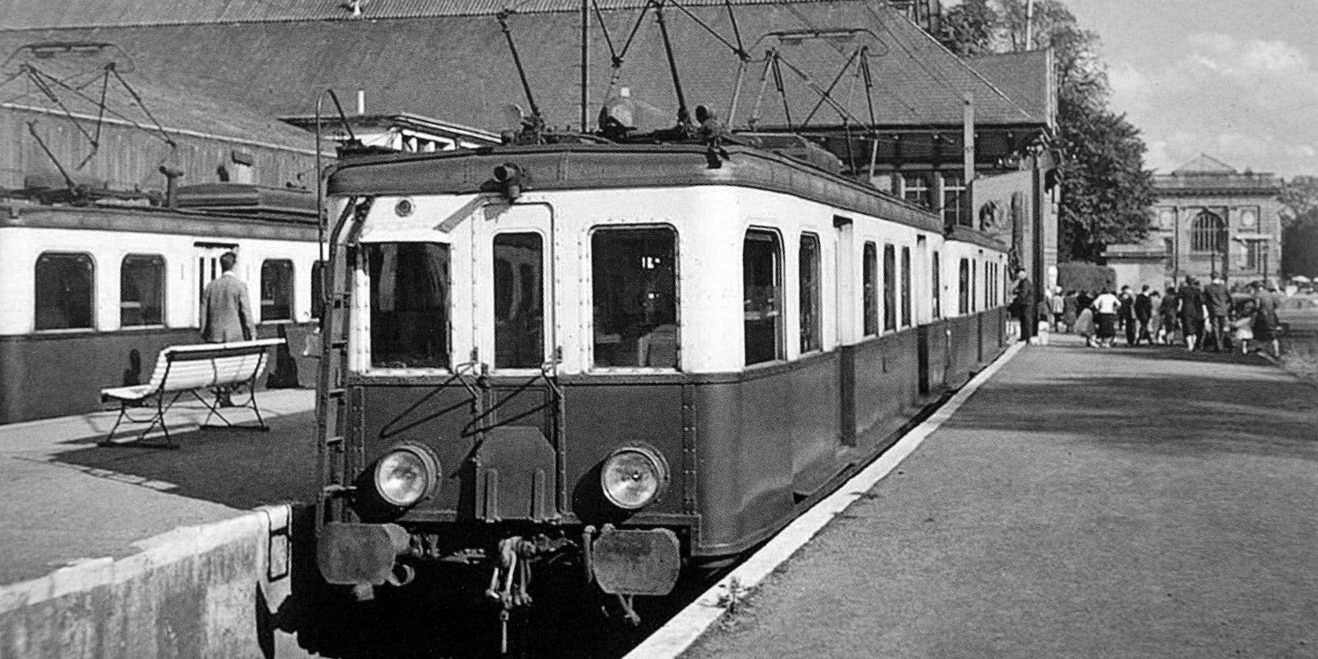Bruxelles-Tervuren, le RER qui existait déjà en… 1931