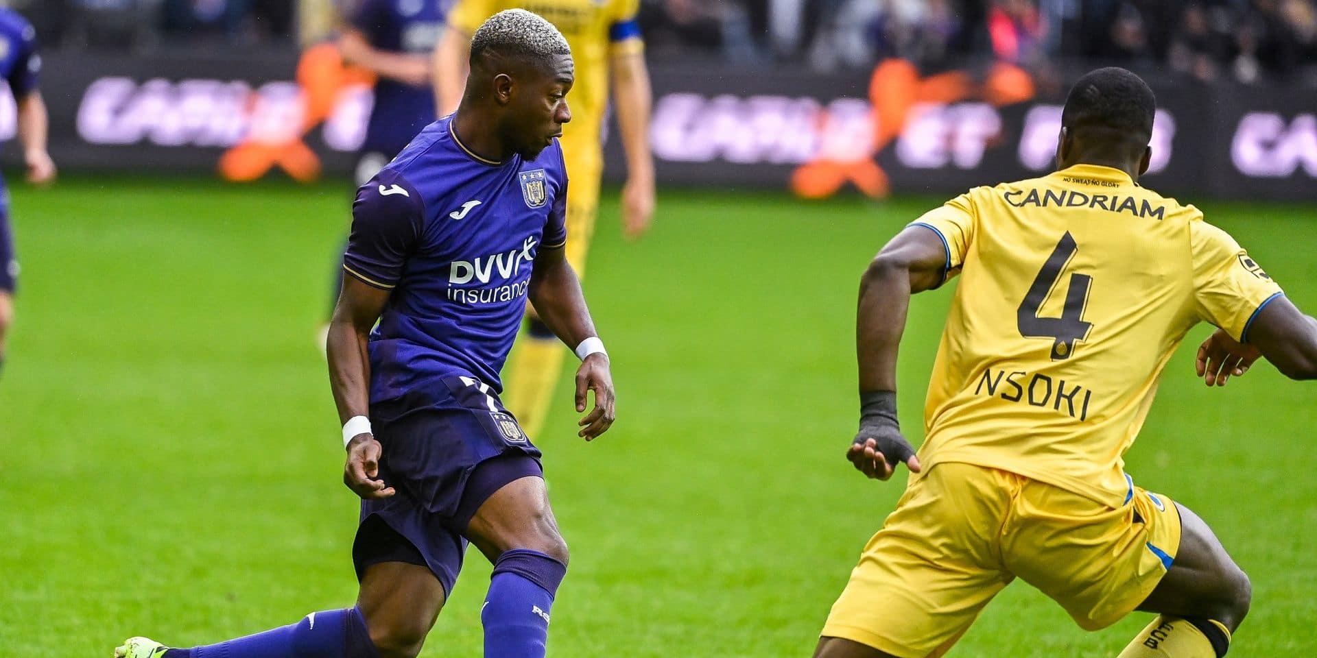 Comment Amuzu a explosé ses stats à Anderlecht