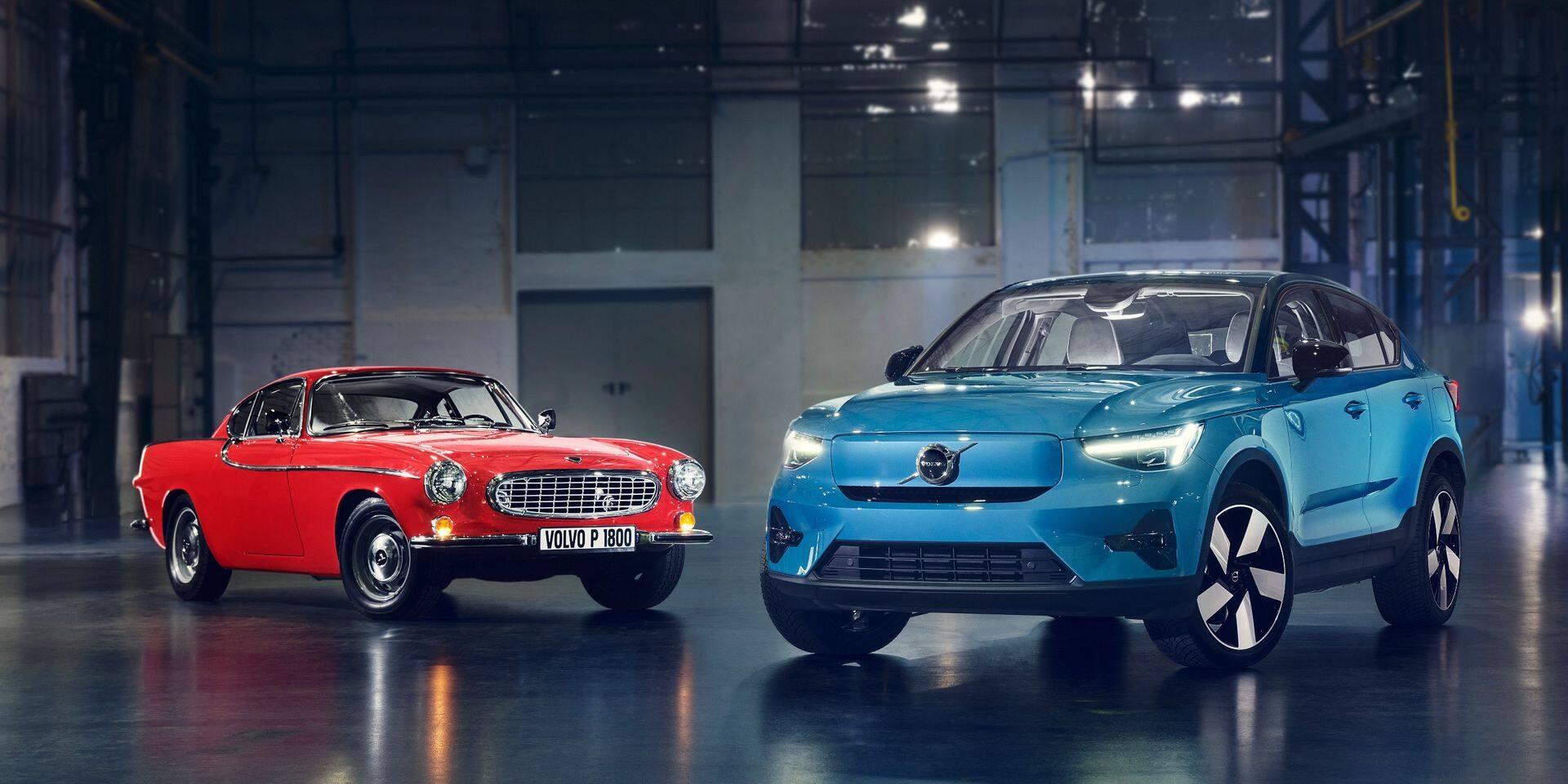 Volvo l'assure : le C40 est inspiré de l'emblématique P1800