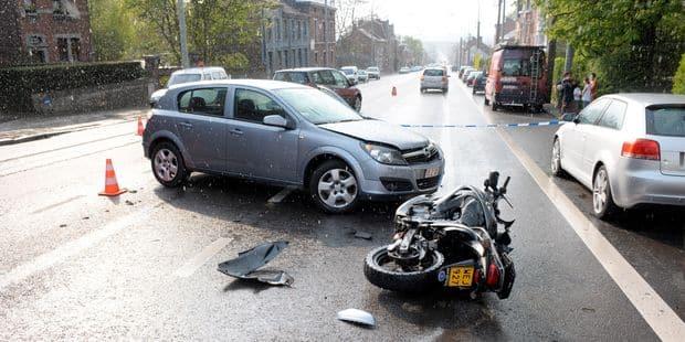 Un motard grièvement blessé sur le ring - La DH