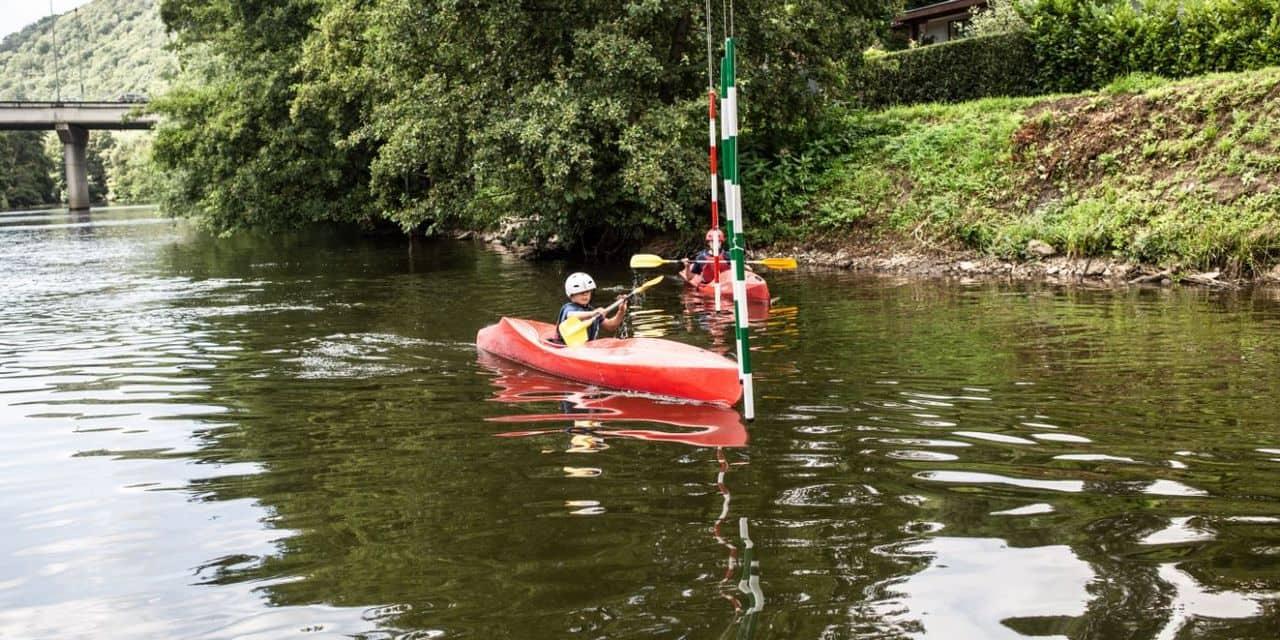 Angleur : un stage de kayak marqué de succès