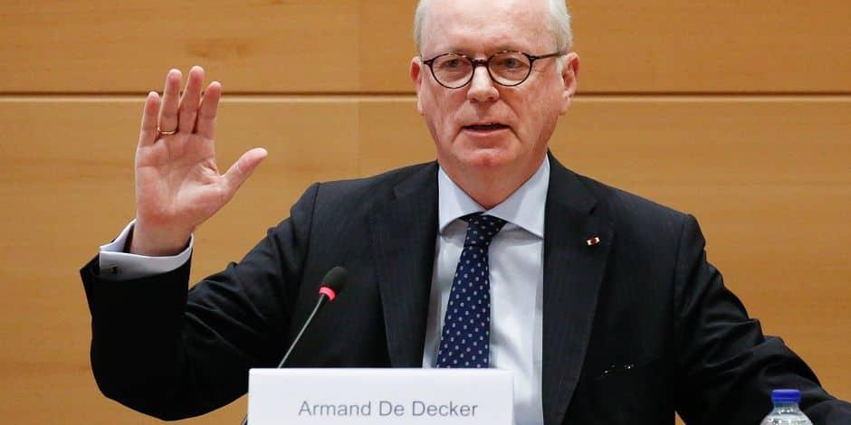 Olivier Chastel demande la démission d'Armand de Decker — Kazakhgate