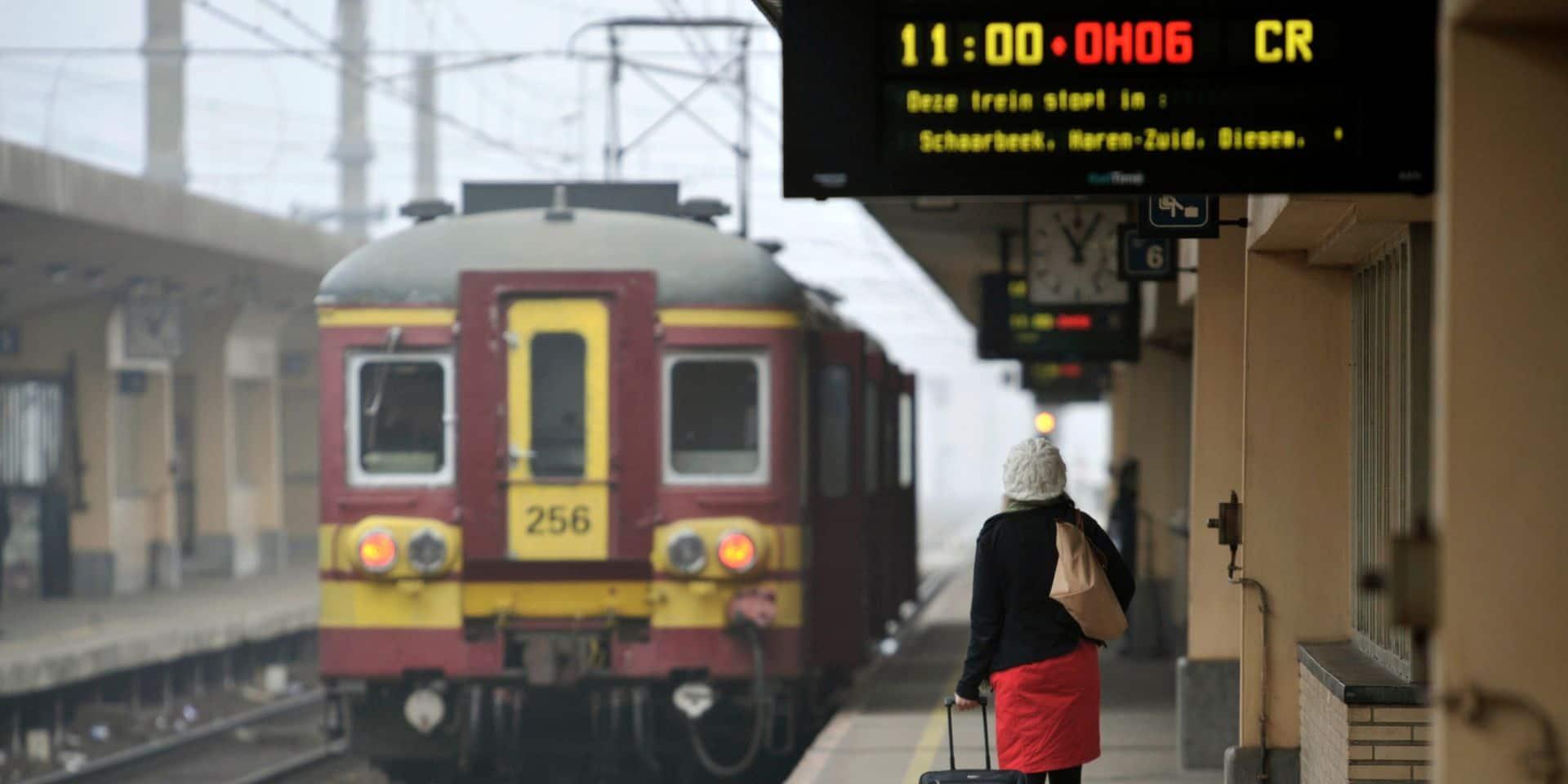 Des perturbations à prévoir sur le rail ce vendredi en raison de travaux à Bruxelles-Nord