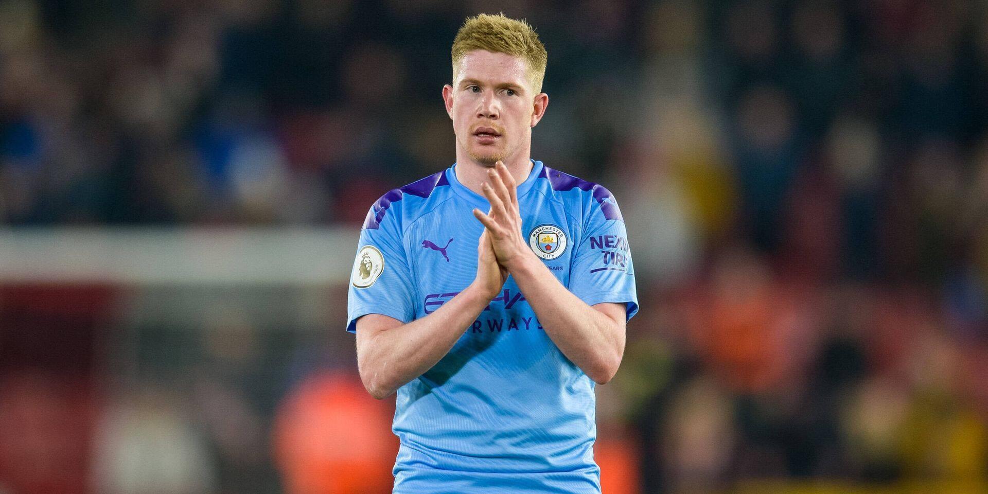 Kevin De Bruyne négocie une prolongation de contrat à Manchester City
