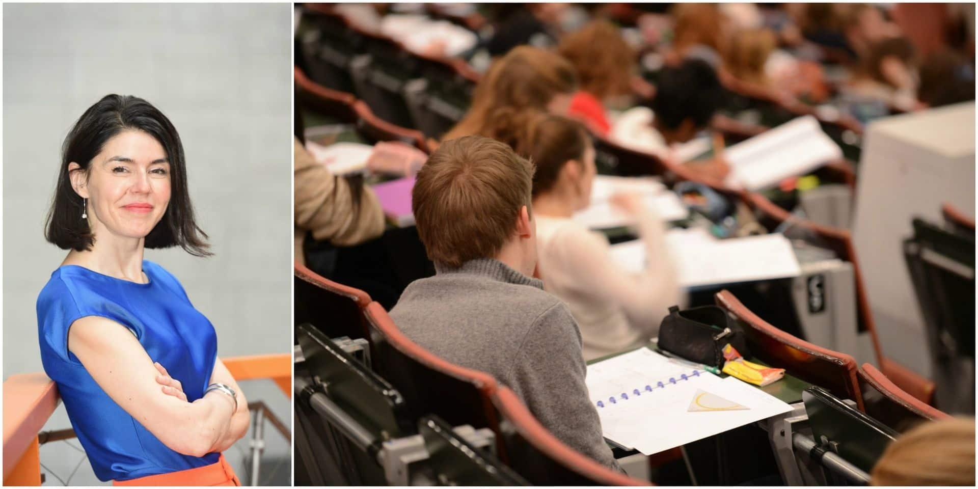"""La ministre Glatigny veut durcir le système de crédits à l'université: """"Il faudra bientôt réussir plus de cours en fin de première année"""""""