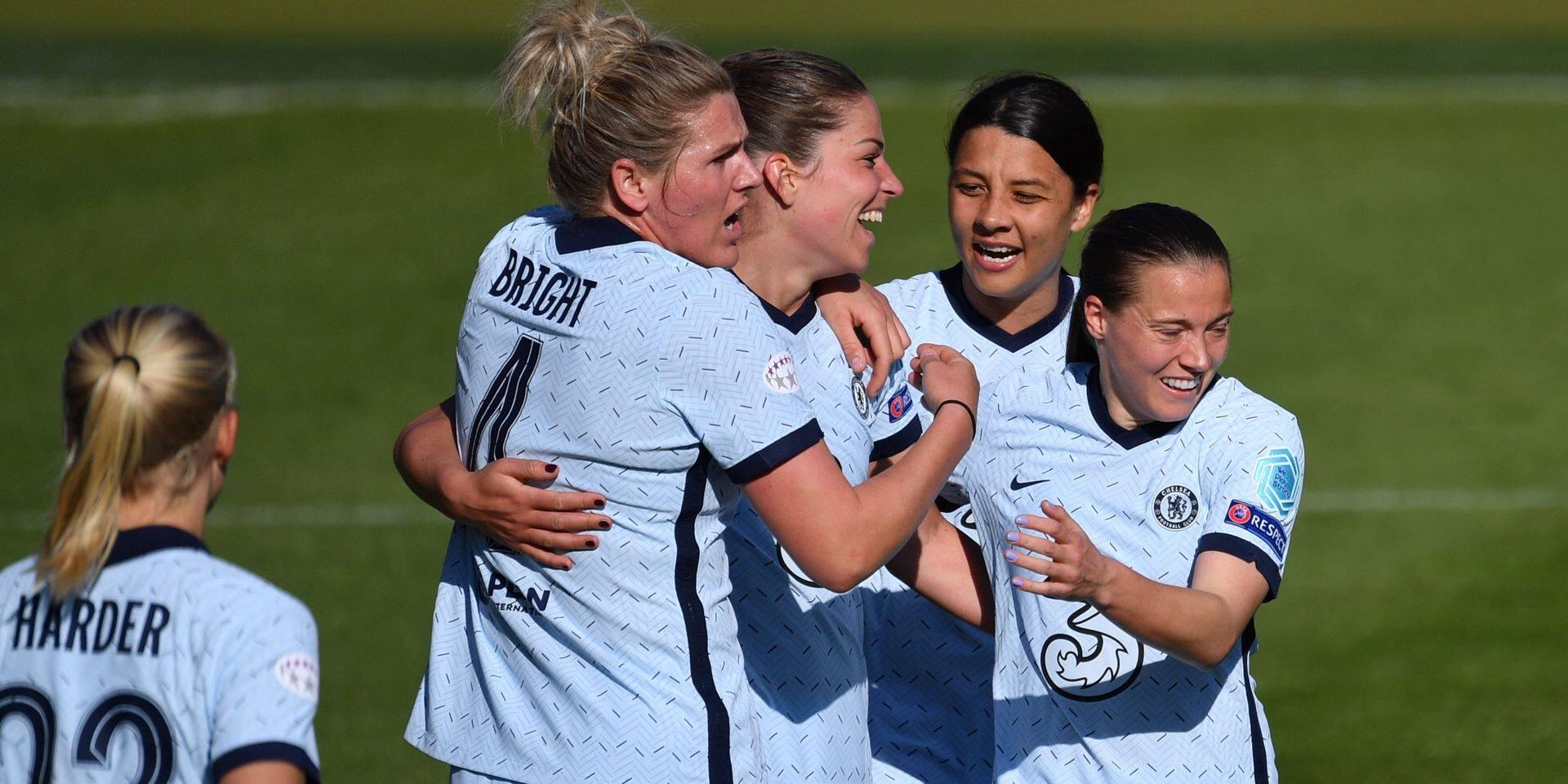 """L'UEFA consacre 24 millions au football féminin via la Ligue des champions: """"Nous démontrons que nous veillons aux intérêts à long terme du sport"""""""