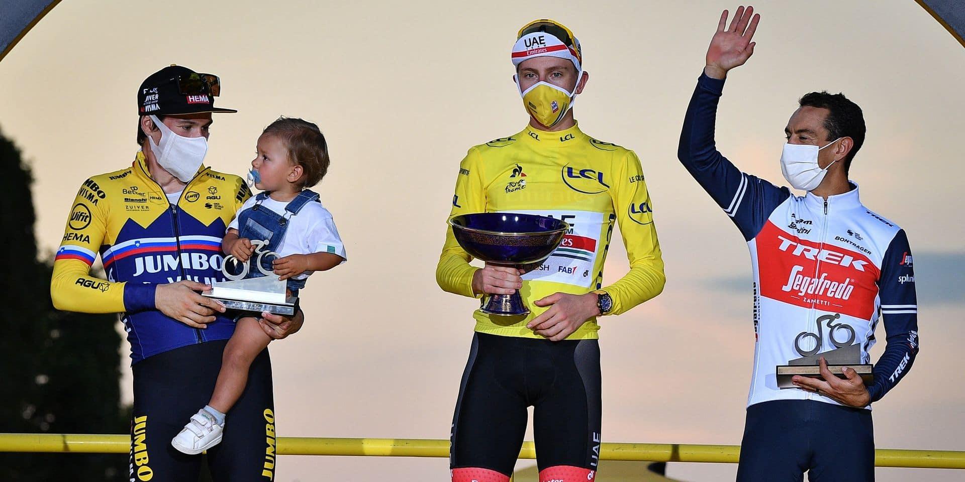 """Richie Porte, le vétéran enfin sur le podium du Tour: """"J'ai ma photo"""""""