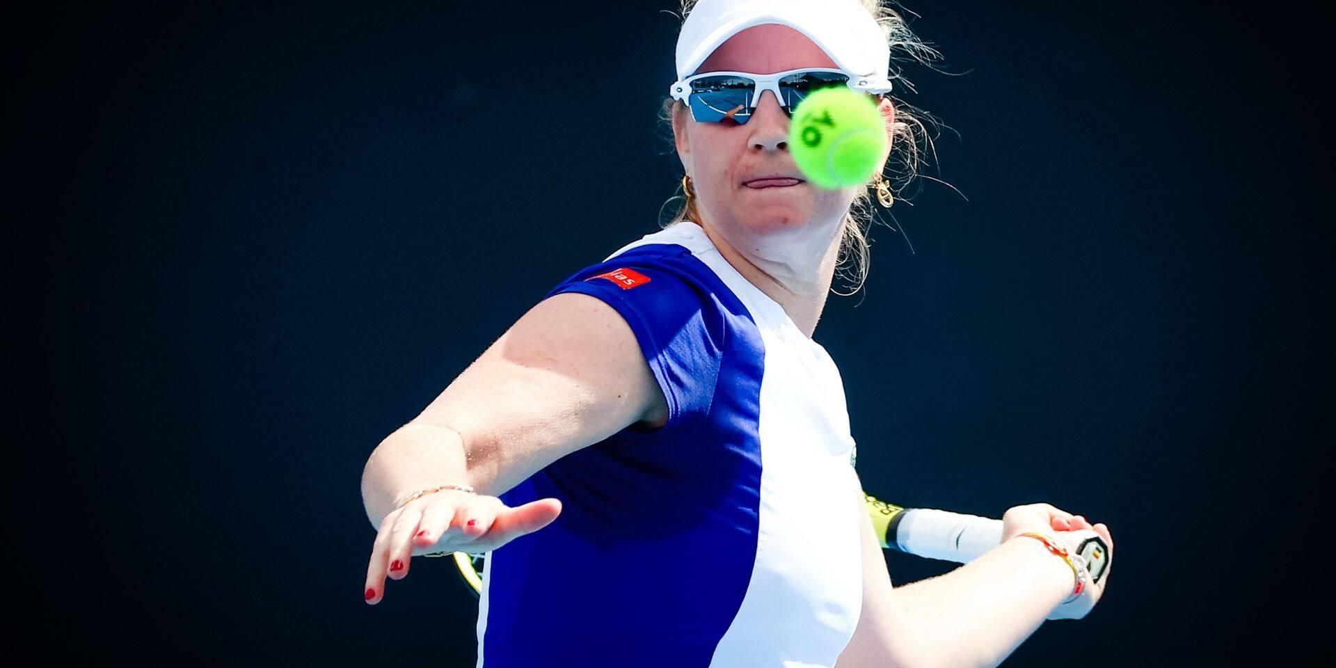 WTA Yarra Valley Classic: Ysaline Bonaventure battue au premier tour