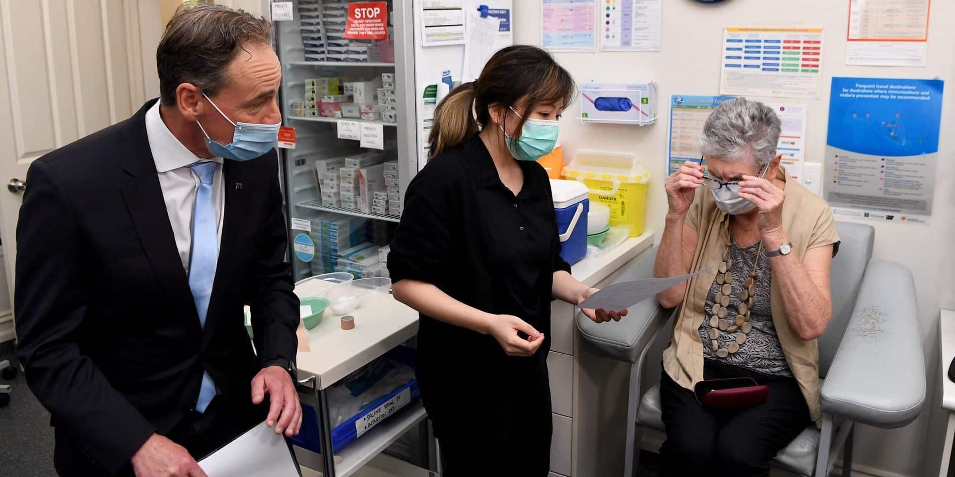 L'Australie impute à l'UE la lenteur de son programme de vaccination