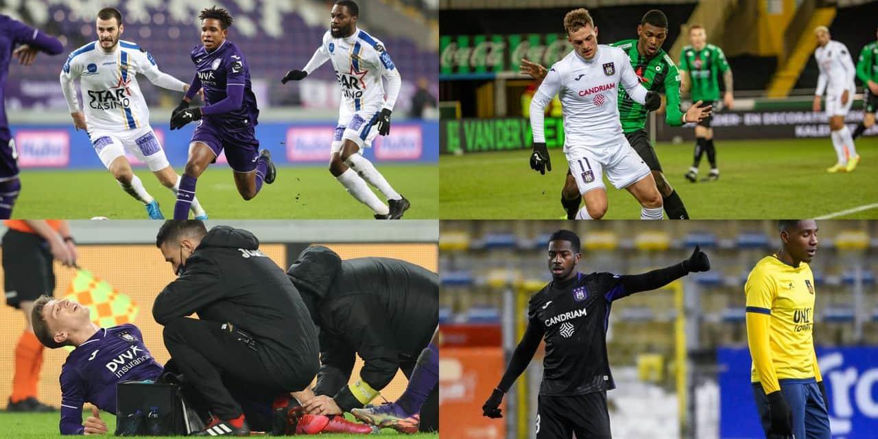 Anderlecht ne parvient pas à remplacer Doku à gauche: des solutions existent mais... - dh.be