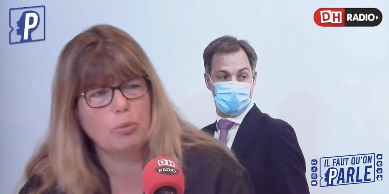 """Caroline Sägesser, politologue: """"Cela fait longtemps que la Belgique n'a plus eu un premier ministre du calibre d'Alexander De Croo"""""""