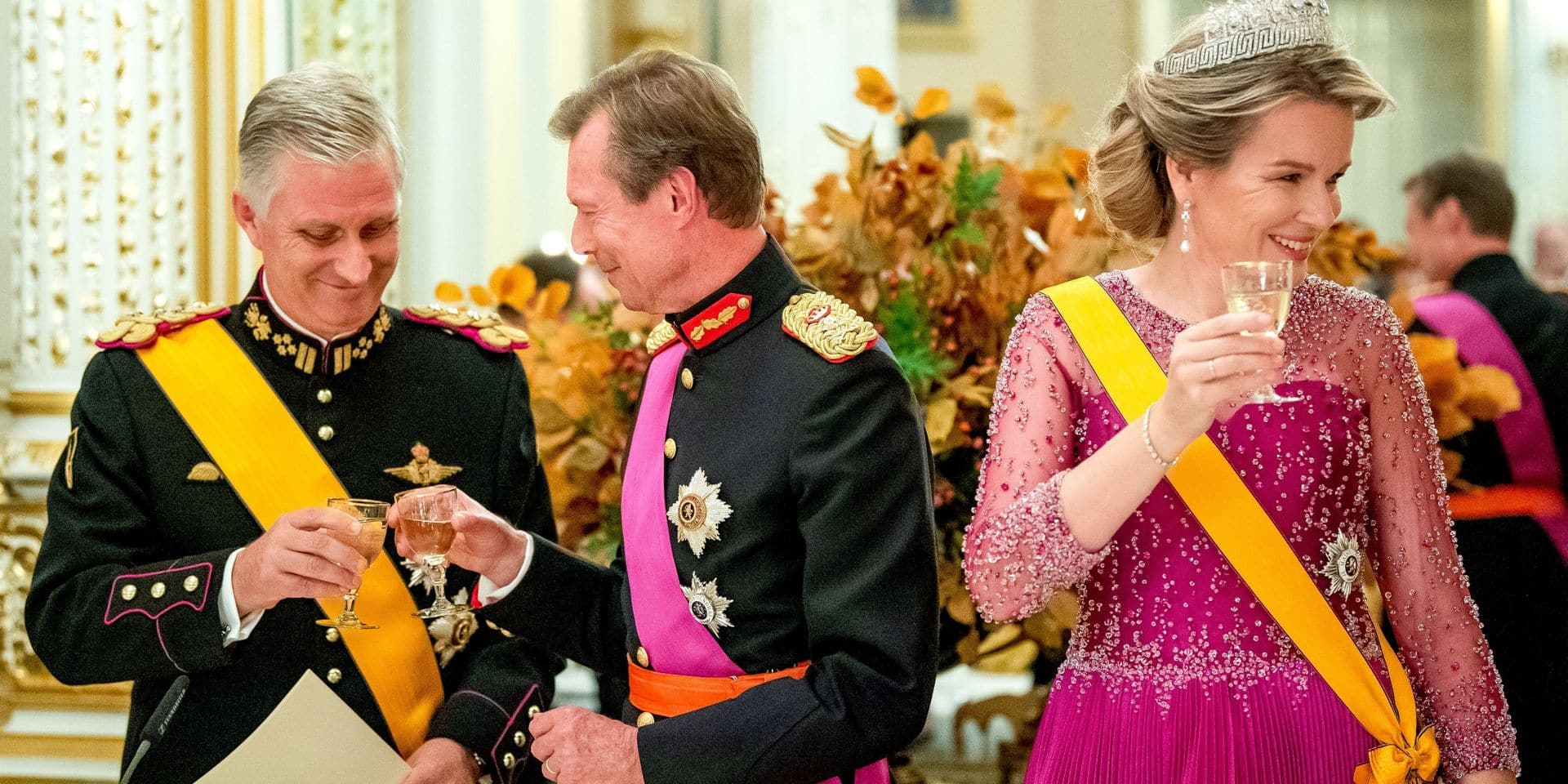 Après la voiture, un nouveau petit couac pour Philippe et Mathilde lors de la visite d'Etat au Grand-Duché