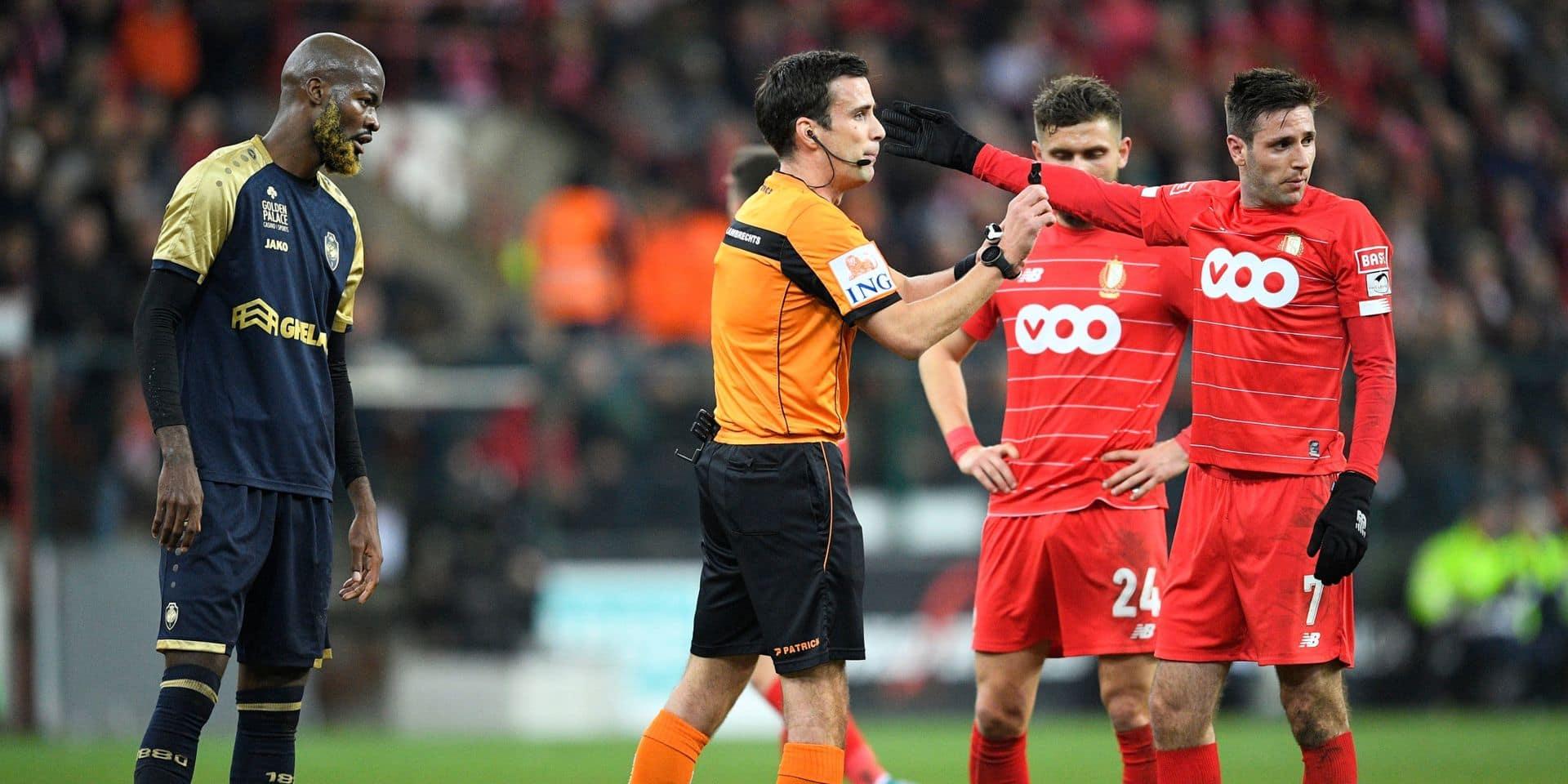 """Le match delegate incrimine Lamkel Zé pour ses """"gestes déplacés et provocateurs"""" à Sclessin"""