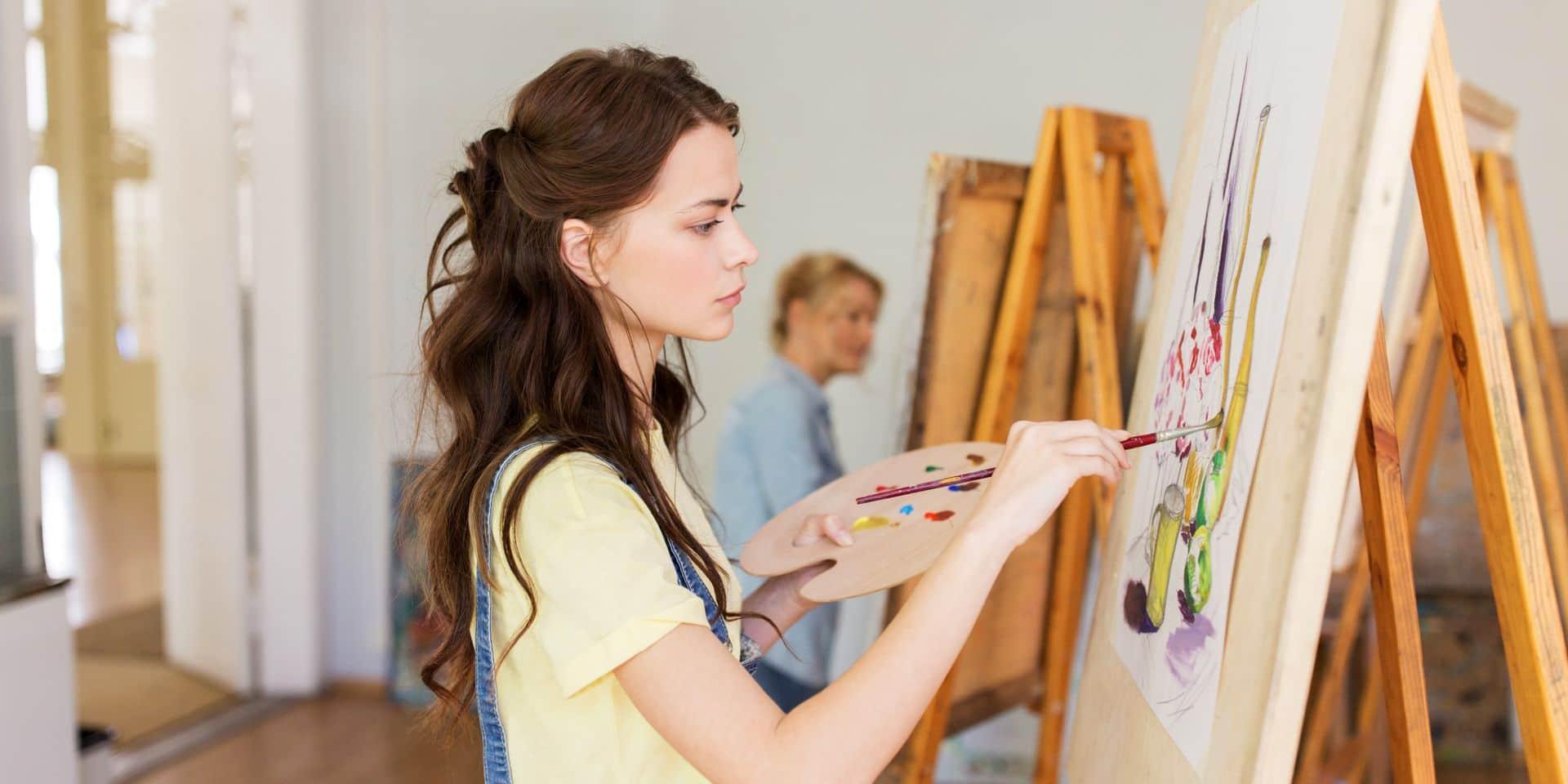 """Les écoles d'art du réseau libre sont discriminées: """"Le manque à gagner peut avoir une incidence sur la qualité de l'enseignement"""""""